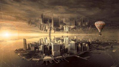 未来都市 空間の歪み