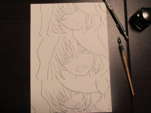 スクリーントーンを使って漫画絵を描いてみました。上手い絵、いい絵はどうしたら描ける?カラーとはまた違うスクリーントーンの魅力。