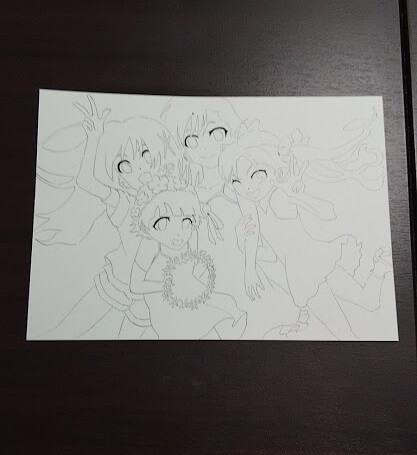 とある科学の超電磁砲 イラスト Real Force 御坂美琴 白井黒子 初春飾利 佐天涙子 とある魔術の禁書目録