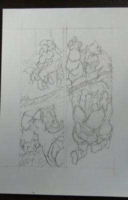 ドラゴンボール23巻 漫画模写 ベージタVSリクーム 難しい構図 絵上手くなる方法漫画描け DragonBall maga page draing