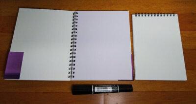 Too コピック ペーパーセレクション スケッチブック Sサイズ コピック 感想 レビュー にじみ 比較